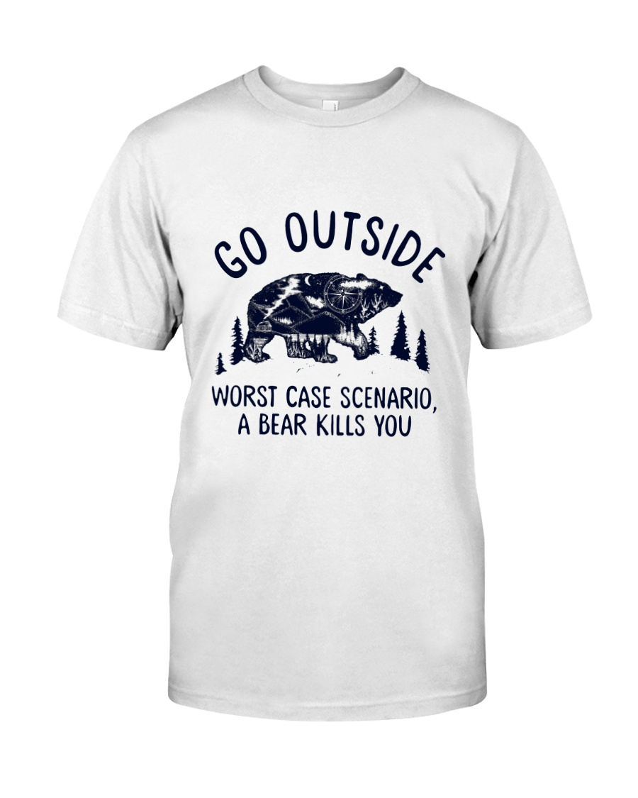 CP-D-0203199-Go Outside Classic T-Shirt