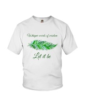 WHISPER WORD OF WISDOM LET IT BE Youth T-Shirt thumbnail