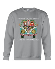 She Is A Good Girl  Crewneck Sweatshirt thumbnail