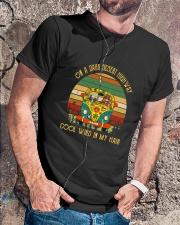 On A Dark Desert Highway  Classic T-Shirt lifestyle-mens-crewneck-front-4
