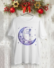 I LOVE YOU TO THE MOON AND BACK Classic T-Shirt lifestyle-holiday-crewneck-front-2