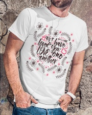 AS I HAVE LOVED YOU LOVE ONE ANOTHER Classic T-Shirt lifestyle-mens-crewneck-front-4