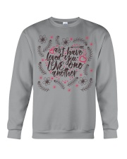 AS I HAVE LOVED YOU LOVE ONE ANOTHER Crewneck Sweatshirt thumbnail
