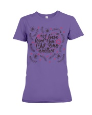 AS I HAVE LOVED YOU LOVE ONE ANOTHER Premium Fit Ladies Tee thumbnail