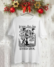 Let there be peace on earth let it begin with me Classic T-Shirt lifestyle-holiday-crewneck-front-2