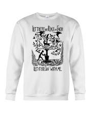 Let there be peace on earth let it begin with me Crewneck Sweatshirt tile