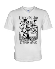 Let there be peace on earth let it begin with me V-Neck T-Shirt thumbnail