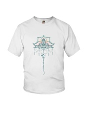Yoga Mandala Youth T-Shirt tile