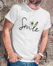SMILE FLOWER Classic T-Shirt lifestyle-mens-crewneck-front-4