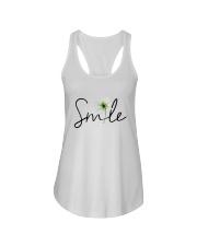 SMILE FLOWER Ladies Flowy Tank thumbnail