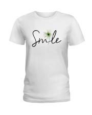 SMILE FLOWER Ladies T-Shirt thumbnail