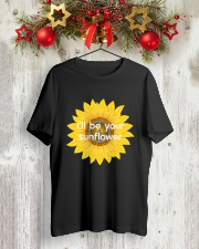 I'll be your sunflower Classic T-Shirt lifestyle-holiday-crewneck-front-2