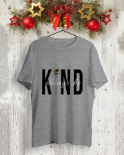 KIND ALWAYS BE Classic T-Shirt lifestyle-holiday-crewneck-front-2