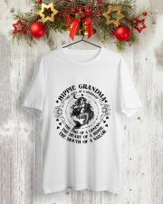 Hippie Grandma 1 Classic T-Shirt lifestyle-holiday-crewneck-front-2