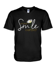 DON'T FORGET TO SMILE EVERYDAY V-Neck T-Shirt thumbnail