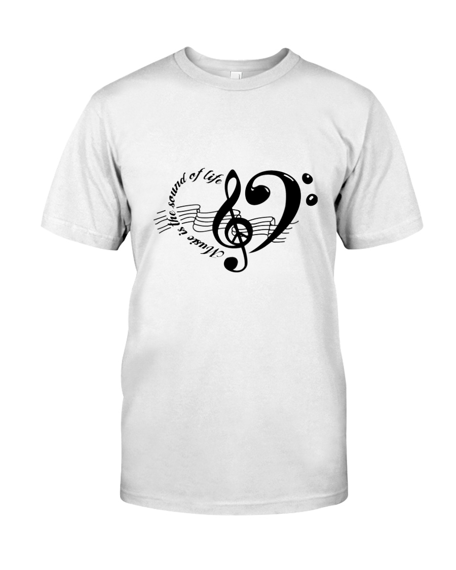 Music is the sould of life Classic T-Shirt
