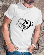 Music is the sould of life Classic T-Shirt lifestyle-mens-crewneck-front-4