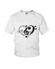 Music is the sould of life Youth T-Shirt thumbnail