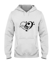 Music is the sould of life Hooded Sweatshirt thumbnail