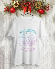 HP-D-2602195-Hello darkness my old friend 3 Classic T-Shirt lifestyle-holiday-crewneck-front-2