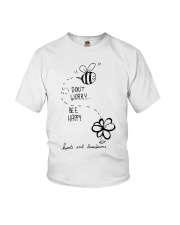 DON'T WORRRY BE HAPPY Youth T-Shirt thumbnail