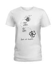 DON'T WORRRY BE HAPPY Ladies T-Shirt thumbnail