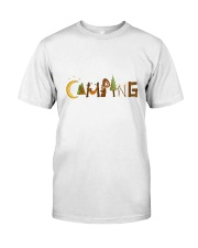 Camping Pain A Classic T-Shirt front