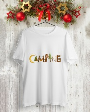 Camping Pain A Classic T-Shirt lifestyle-holiday-crewneck-front-2