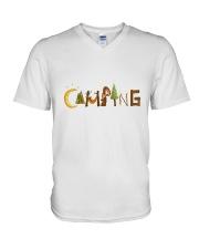 Camping Pain A V-Neck T-Shirt thumbnail