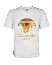 Lost 1 V-Neck T-Shirt thumbnail
