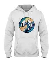 HIPPIE SIGN Hooded Sweatshirt thumbnail
