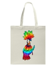Lotus Flower TIe Dye Tote Bag thumbnail