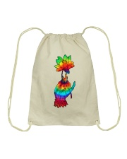 Lotus Flower TIe Dye Drawstring Bag thumbnail