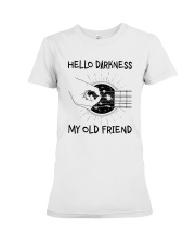 Hello Darkness My Old Friend Premium Fit Ladies Tee thumbnail