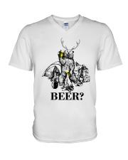 BEER V-Neck T-Shirt thumbnail