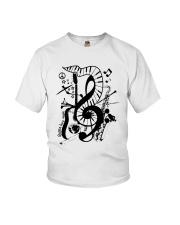 PEACE LOVE MUSIC Youth T-Shirt thumbnail
