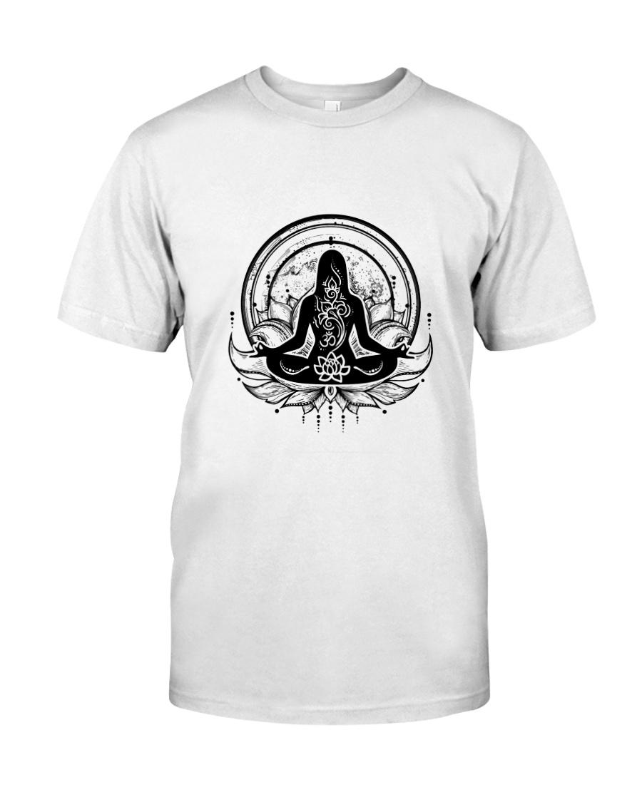 Yoga Mandala Premium Fit Mens Tee