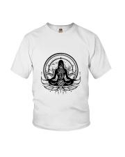 Yoga Mandala Youth T-Shirt thumbnail