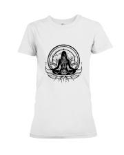 Yoga Mandala Premium Fit Ladies Tee thumbnail