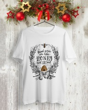 HONEY TO THE SOUL Classic T-Shirt lifestyle-holiday-crewneck-front-2