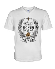 HONEY TO THE SOUL V-Neck T-Shirt thumbnail