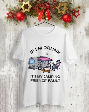 Friends Fault Classic T-Shirt lifestyle-holiday-crewneck-front-2