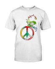 PEACE  Premium Fit Mens Tee front