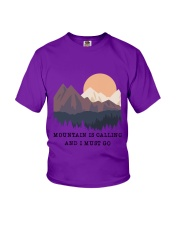 CP-D2602198-Mountain is calling and i must go 2 Youth T-Shirt thumbnail
