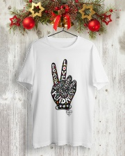 HIPPIE IMAGINE Classic T-Shirt lifestyle-holiday-crewneck-front-2