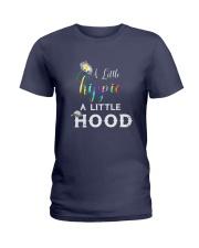 A LITTLE HIPPIE A LITTLE HOOD Ladies T-Shirt thumbnail