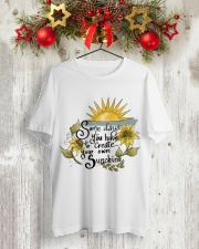 YOUR OWN SUNSHINE Classic T-Shirt lifestyle-holiday-crewneck-front-2