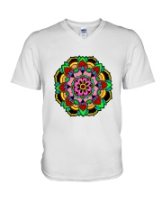 MANDALA 10 V-Neck T-Shirt tile
