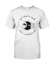 And I Think To My Self Classic T-Shirt front