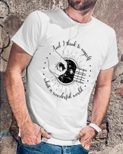 And I Think To My Self Classic T-Shirt lifestyle-mens-crewneck-front-4